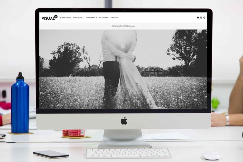 3HVISUAL. Web de fotografía en WordPress. Imagen corporativa y marketing 0