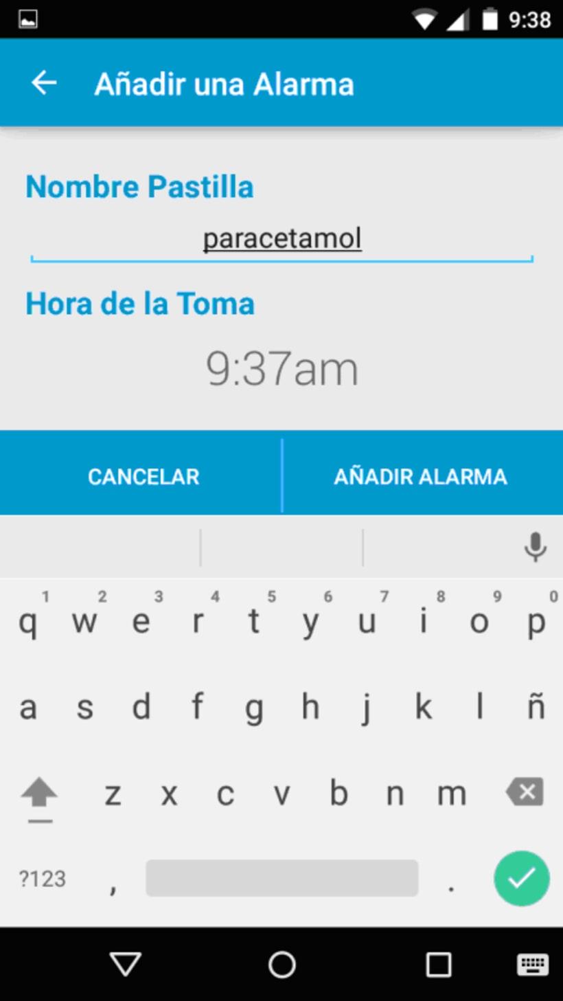App Mispastillas Android 0