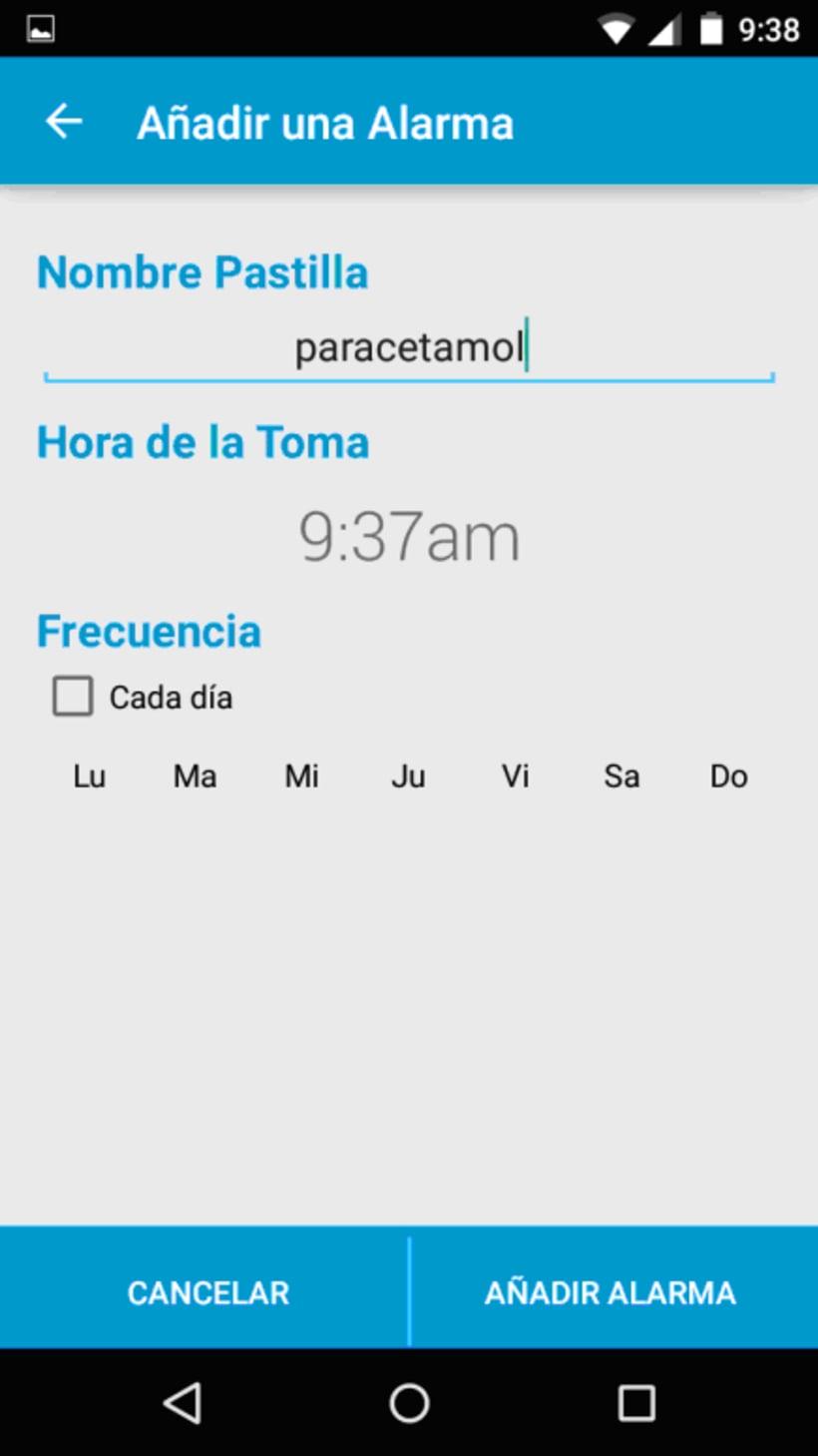 App Mispastillas Android 2