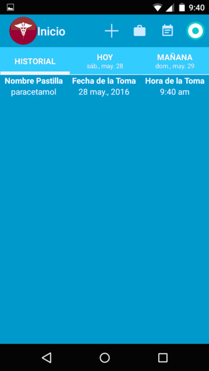 App Mispastillas Android 8