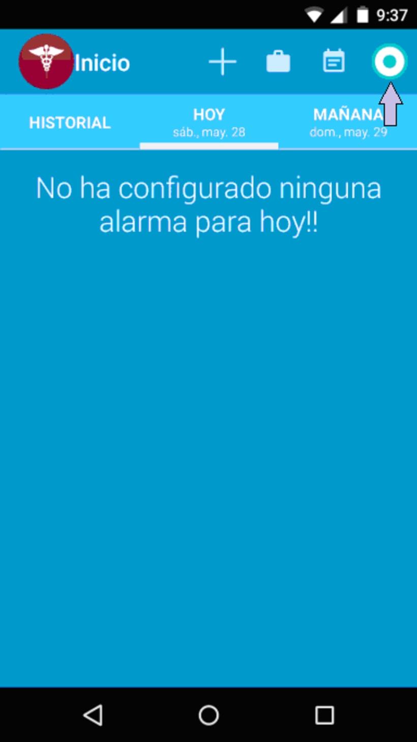 App Mispastillas Android 9