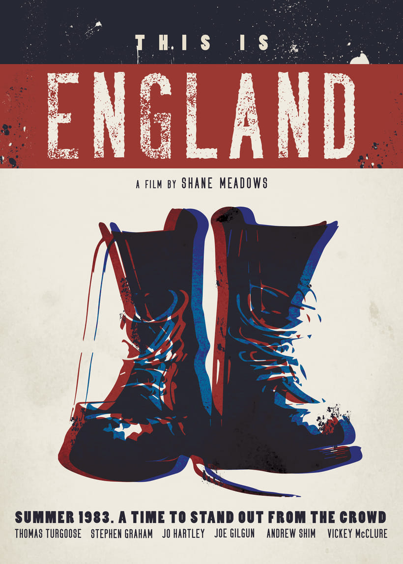 "Poster remake - ""This is England"" -1"