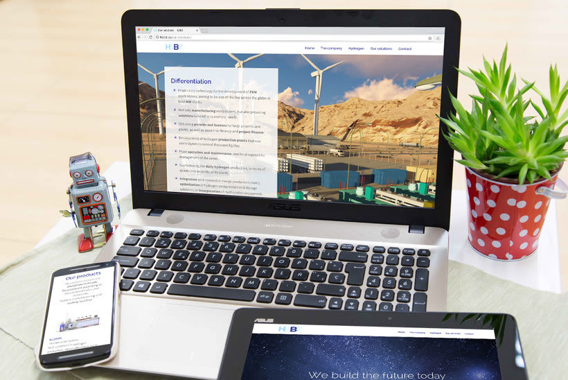 H2B2. Página web en WordPress 1