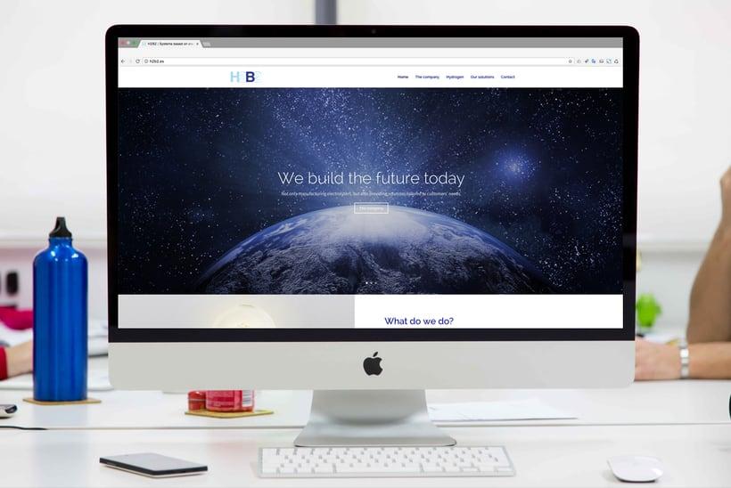 H2B2. Página web en WordPress 0