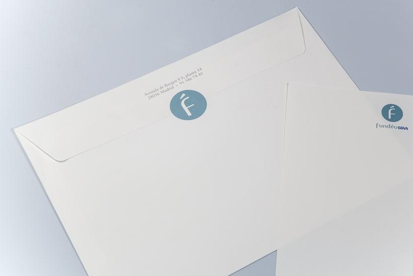 Fundéu | Imagen y papelería corporativa. 2