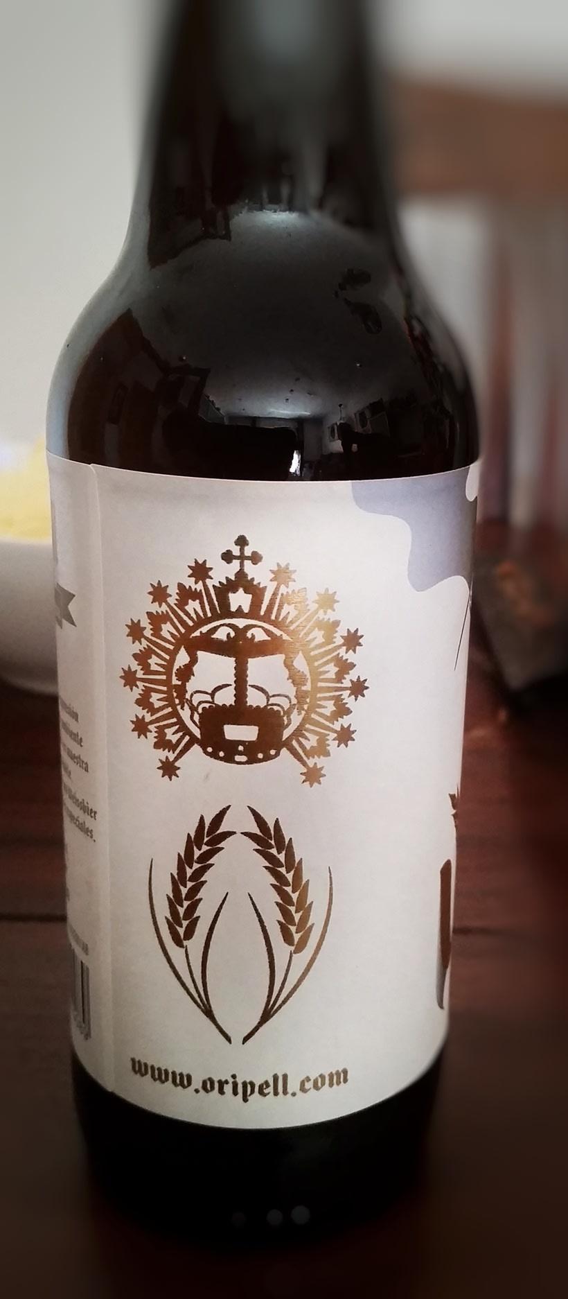 Vespra. Cerveza artesana de trigo. 2
