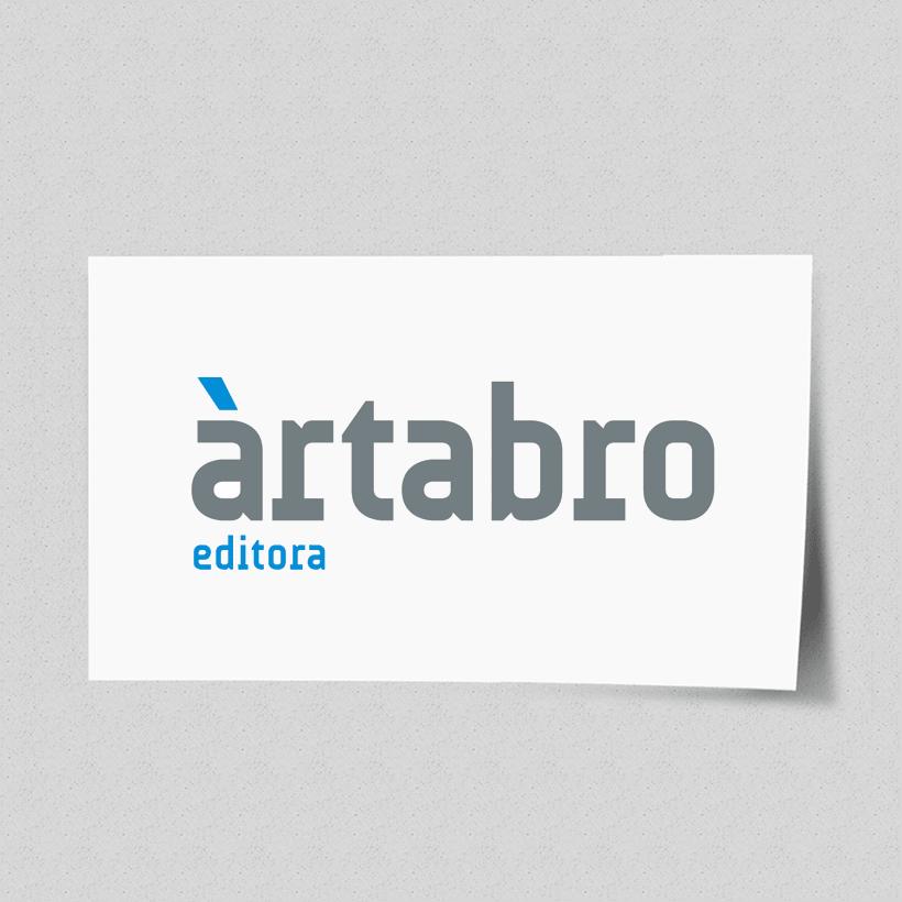 Marca para editorial galega Ártabro Editora 1