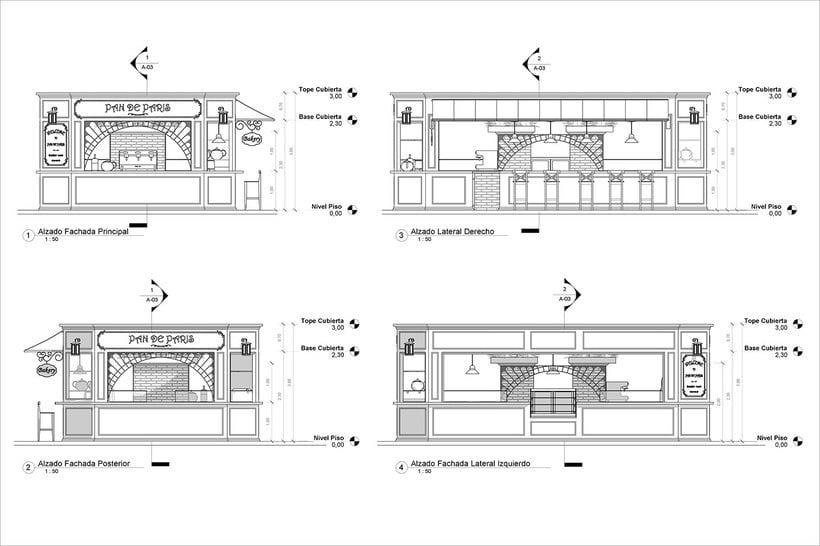 Diseño de Stand Bakery 3