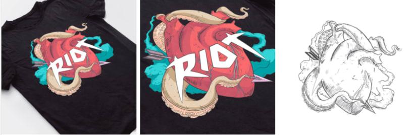 Encargo para Riot (Los Angeles, EE.UU). 3
