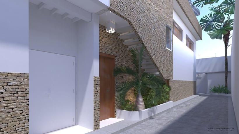 Diseño arquitectónico Vivienda Unifamiliar y Local Comercial. 0