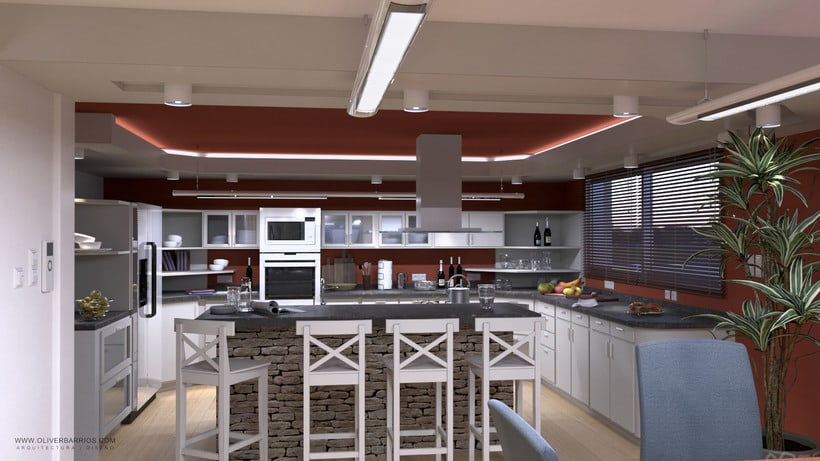 Diseño arquitectónico Vivienda Unifamiliar y Local Comercial. 2
