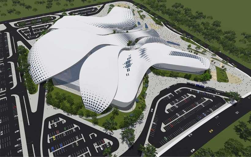 Diseño Arquitectónico Centro Ferial Internacional Y Convenciones 0