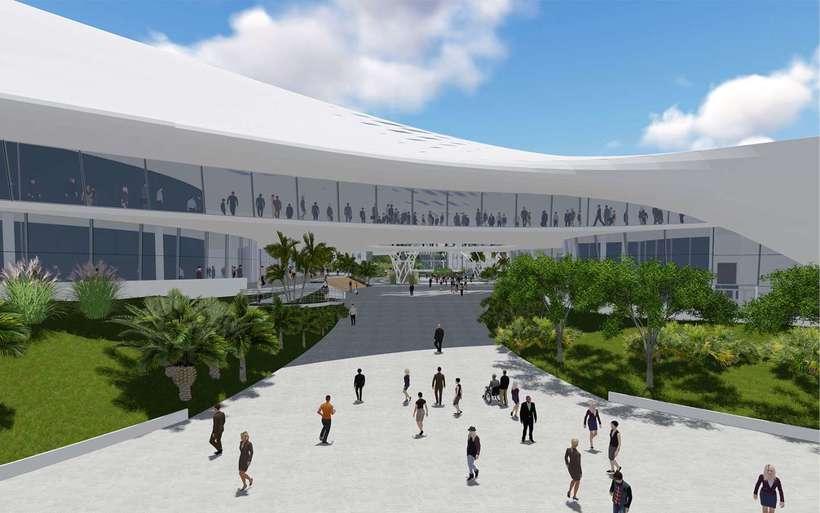 Diseño Arquitectónico Centro Ferial Internacional Y Convenciones 5
