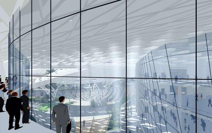 Diseño Arquitectónico Centro Ferial Internacional Y Convenciones 7