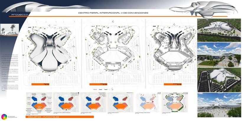 Diseño Arquitectónico Centro Ferial Internacional Y Convenciones 11