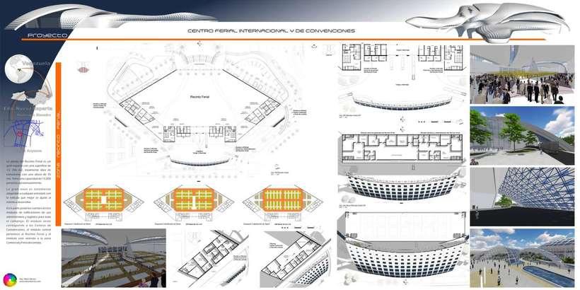 Diseño Arquitectónico Centro Ferial Internacional Y Convenciones 13