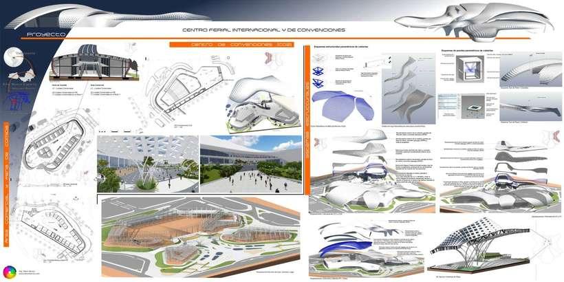 Diseño Arquitectónico Centro Ferial Internacional Y Convenciones 15
