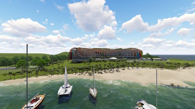 Diseño Arquitectónico y Paramétrico - Hotel Winds 5 Estrellas 0