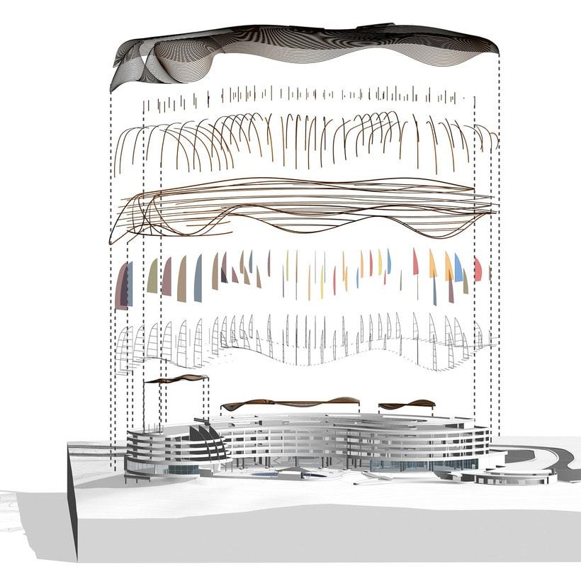 Diseño Arquitectónico y Paramétrico - Hotel Winds 5 Estrellas 18