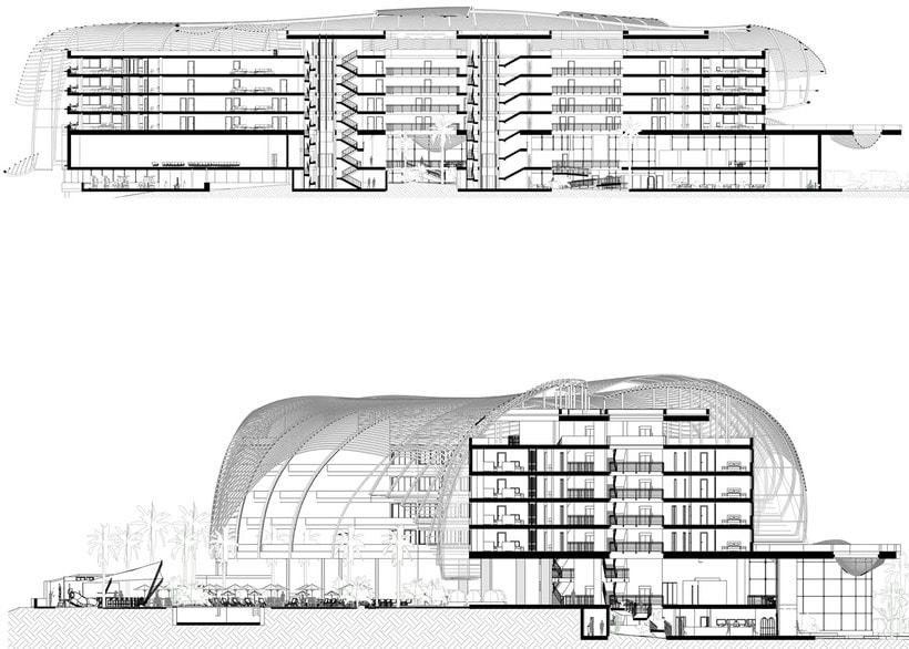 Diseño Arquitectónico y Paramétrico - Hotel Winds 5 Estrellas 17