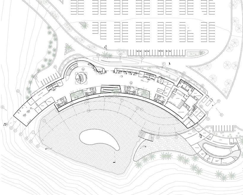 Diseño Arquitectónico y Paramétrico - Hotel Winds 5 Estrellas 15