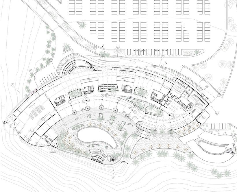 Diseño Arquitectónico y Paramétrico - Hotel Winds 5 Estrellas 16