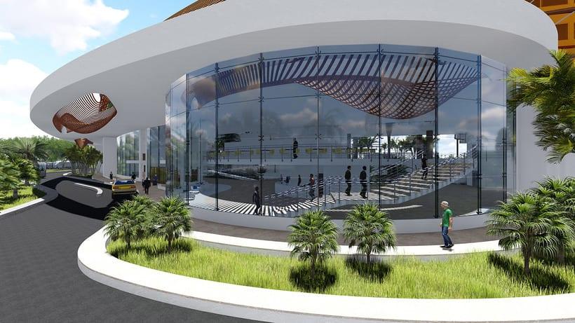 Diseño Arquitectónico y Paramétrico - Hotel Winds 5 Estrellas 11
