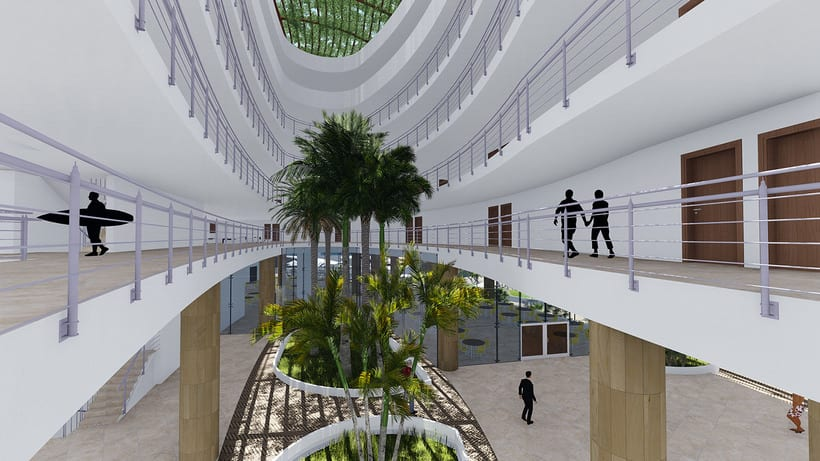 Diseño Arquitectónico y Paramétrico - Hotel Winds 5 Estrellas 12