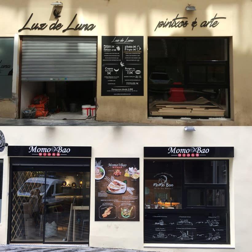 Restauración y decoración de restaurante, centro de Madrid 0