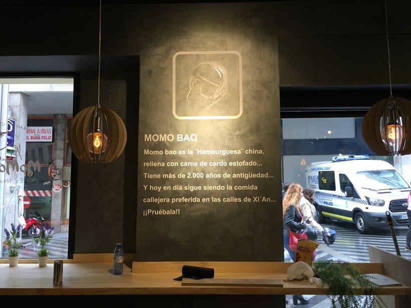 Restauración y decoración de restaurante, centro de Madrid 3