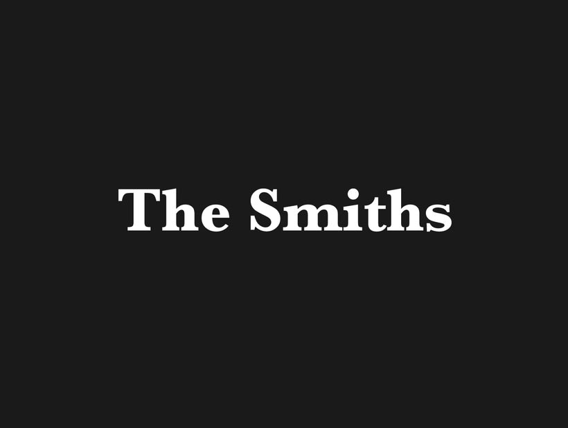 The Smiths Vectorial Album Covers 0