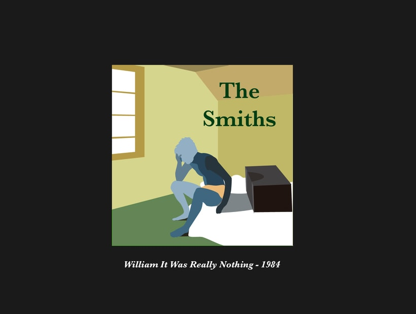 The Smiths Vectorial Album Covers 1