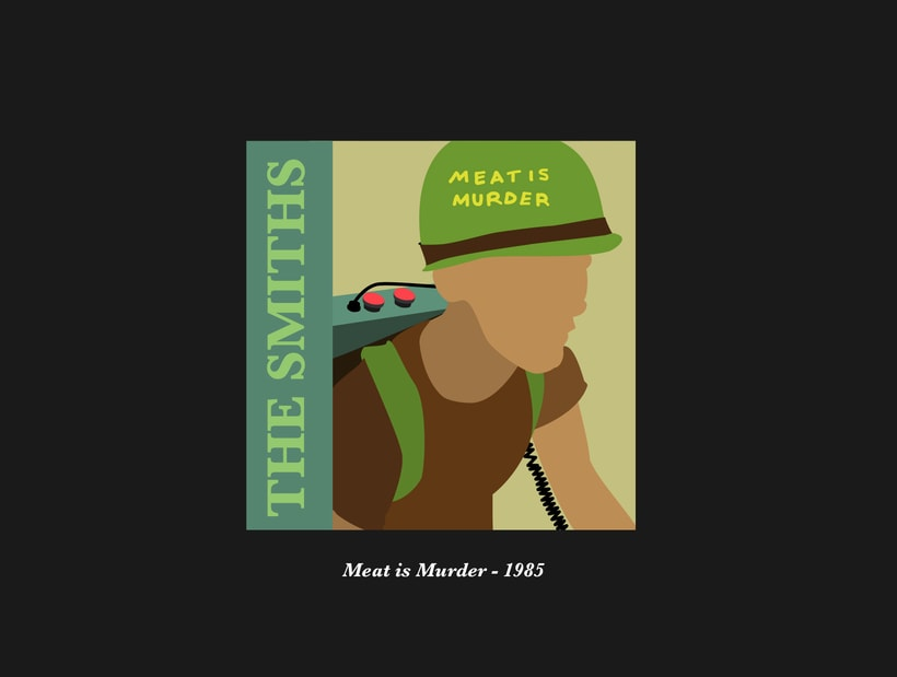 The Smiths Vectorial Album Covers 2
