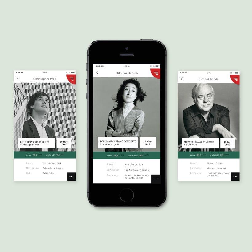 Concept: classical music concert app -1