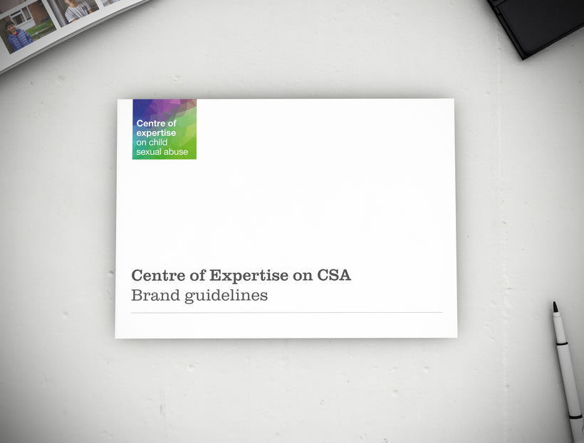 Centre of Expertise CSA, brand development & marketing campaign 0