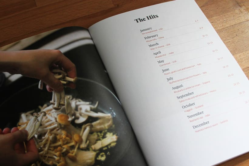 Nothing but the Hits, Cafe ROLI recipe book 2