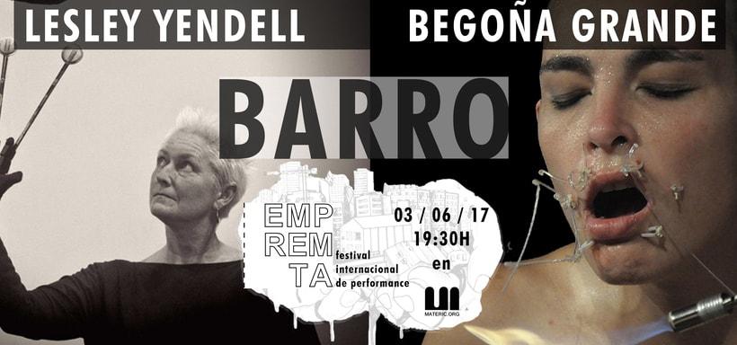 EMPREMTA 2017 _BARRO_ Lesley Yendell _ Begoña Grande 0