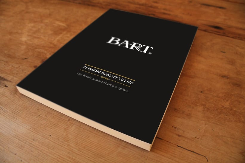 BART ingredients, herbs & spices book  -1