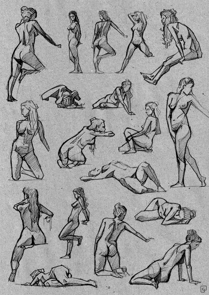Life Sketches. Círculo -1