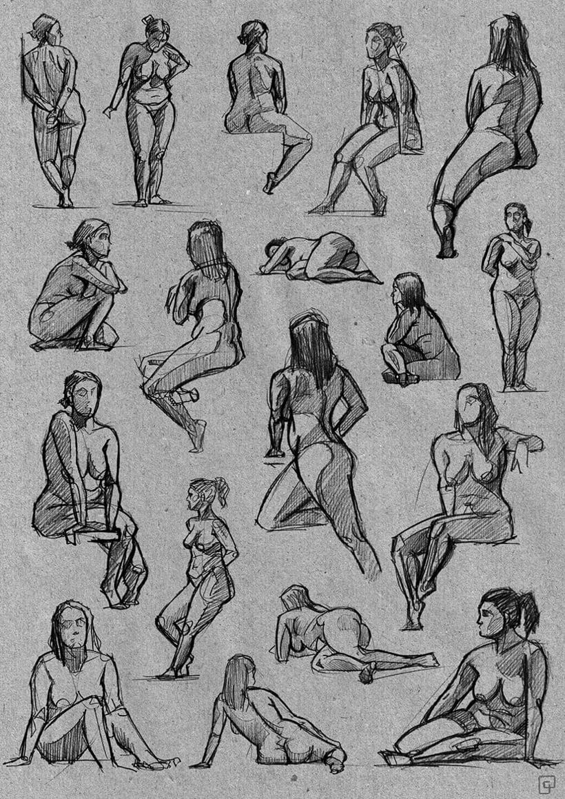 Life Sketches. Círculo 0