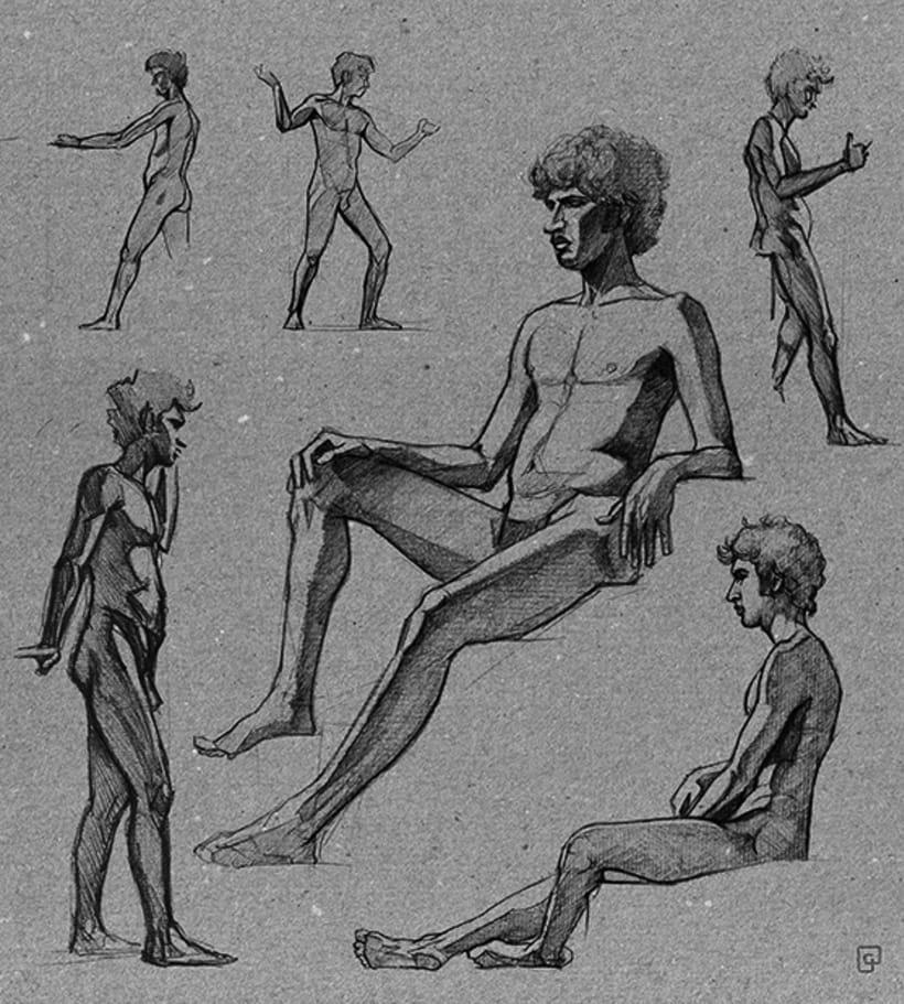 Life Sketches. Círculo 1