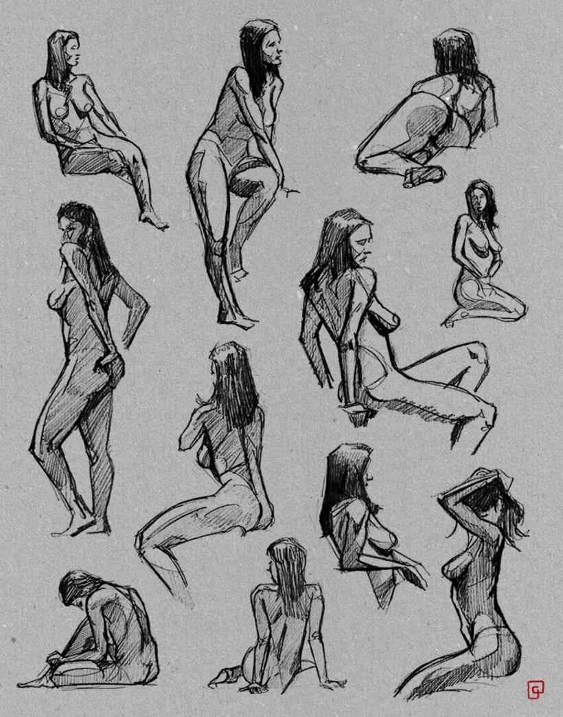 Life Sketches. Círculo 2