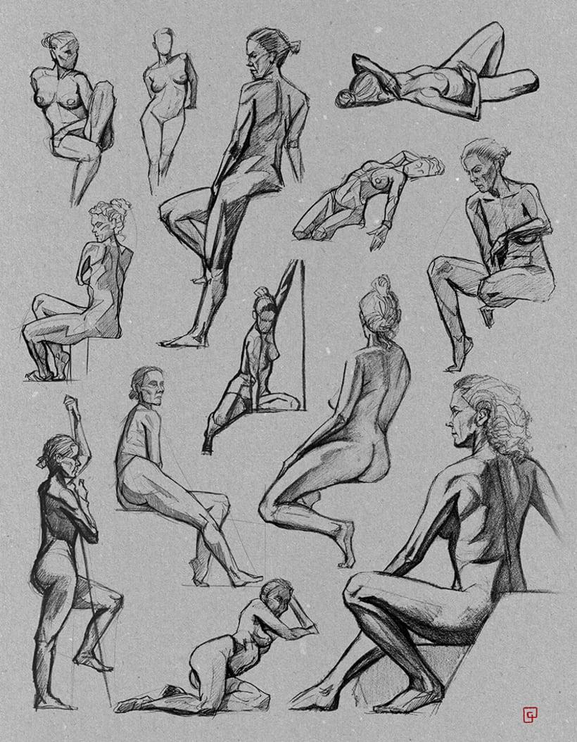 Life Sketches. Círculo 3