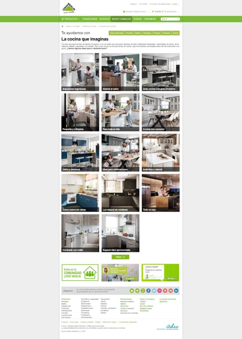 Proyecto:  Cocinas -1
