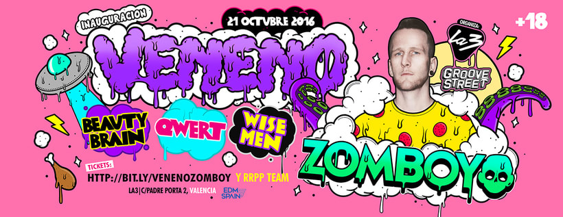 Veneno Party   La3 Valencia 1