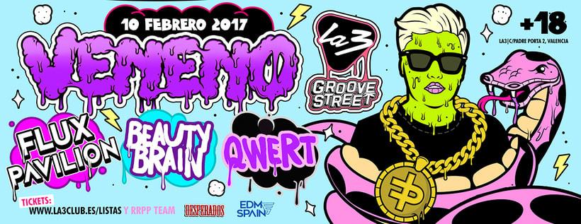 Veneno Party | La3 Valencia 5