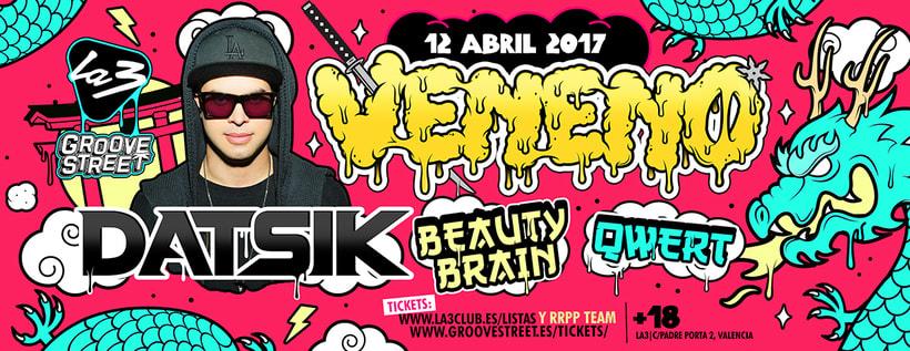 Veneno Party | La3 Valencia 7