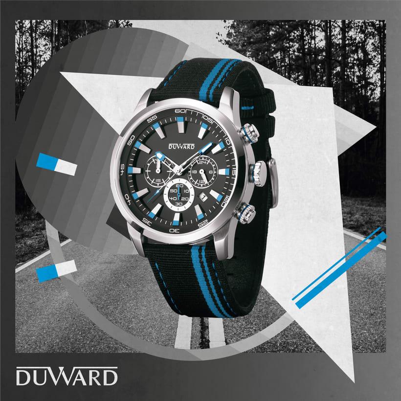 RELOJES DUWARD - Diseño gráfico 14