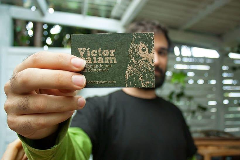 Tarjetas Víctor Paiam 0