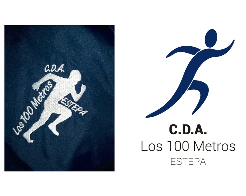 Manual de identidad corporativa C.D.A. Los 100 Metros 3
